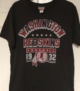 Junk Food Washington Redskins Gray NFL T-shirt, Mens M