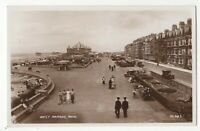 Rhyl West Parade 1939 RP Postcard Flintshire Wales 158c