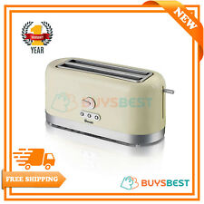 Swan Variable Browning Control 4 Slice Toaster With Extra Long Slot ST10091CREN
