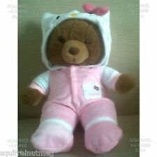 HELLO KITTY ROSA tutina Pigiami si adatta anche un design Bear & altri TEDDY BEARS