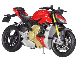 Maisto 1:18 Ducati Super Naked V4 S MOTORCYCLE BIKE DIECAST MODEL NEW IN BOX