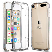iPod Touch 5th/6th Gen Case Crystal CLEAR SLIM Shockproof Bumper Silicone Cover