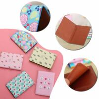 Fruit Travel Passport Cover ID Card Cover Holder Case Protector Organizer New