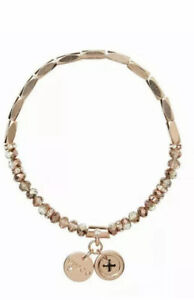 MIMCO Bracelet Rose Gold Memoir Bead Wrist Jewellery Bangle BNWT Authentic NEW