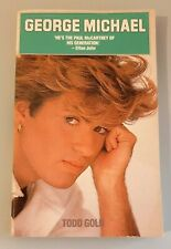 George Michael Todd Gold paperback Book RARE UK/US Publication OUR LAST ONE Wham