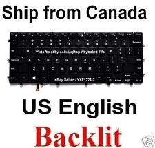 Dell XPS 15 9550 15-9550 Keyboard - US Backlit 0GDT9F NSK-LV0BC 0WDHC2 NSK-LV0BW