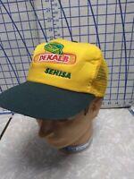 Vintage DEKALB Seed Corn embroidered Farm Mesh Foam SnapBack Trucker Hat Cap