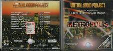 VIRTUAL AUDIO PROJECT CD METROPOLIS HI TECH ELECTRONIC  UPI EXPLORA REALOGIC 20