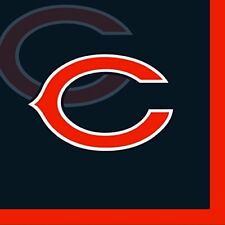 Creative Converting 16 Count Chicago Bears Beverage Napkins