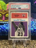1998 Fleer Vintage '61 Michael Jordan #23 PSA 9