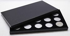 BOX FOR COINS IN AIRTITE CAPSULE HOLDERS 15 H BLACK AIR-TITE - Silver Dollars
