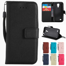 Retro Leather Wallet Case Card Slot Flip Cover for Samsung Galaxy S3 S4 S5 Mini
