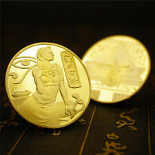 Egyptian Ancient Goddess Of Egypt Isis Collectible Commemorate Coin gold