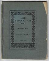 OSCAR WILDE Lord Arthur Savile's Crime, A Study of Duty 1904