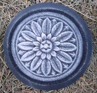 Tuscan plaque plastic mold plaster concrete mould