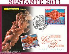 ITALIA MAXIMUM MAXI CARD 2010 MADE IN ITALY CORALLO DI TORRE DEL GRECO  A215