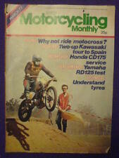 MOTORCYCLING MONTHLY - YAHAMA RD125 - March 1977 #17