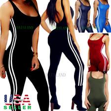 Women Athletic Stretch Leggings Pants Sports Yoga Workout Gym Fitness Tank Top