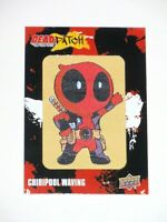2019 UPPER DECK MARVEL DEADPOOL DEADPATCH PATCH Tier 2 DP26 CHIBIPOOL WAVING!