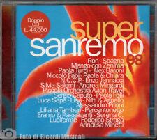 SUPERSANREMO 98 (1998) CD DOPPIO sanremo **COME NUOVO**