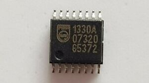 2pcs x UDA1330ATS/N2,112, D/A Converters - DAC AUDIO STEREO, SSOP-16