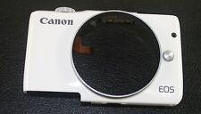 Canon EOS M10 Fotocamera Digitale Bianco Top & COPERCHIO ANTERIORE NUOVO ORIGINALE