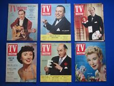 ' TV Mirror ' Magazines from the 1950's - Your Birthday...?..You choose the date