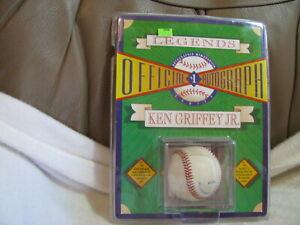 New PKG 1992 Legends Official Autograph Baseball Ken Griffey Jr.
