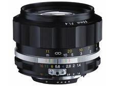 New Unused Voigtlander Nokton 58mm F1.4 SL II S Black Nikon F Ais Ai Auto-Topcor