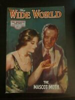 Wide World Magazine February 1933 The Mascot Moth PULP Fiction