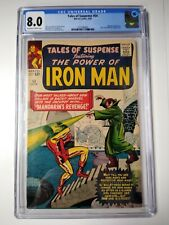 TALES OF SUSPENSE #54 CGC 8.0 Kirby & Stan Lee 2nd Appearance of The Mandarin