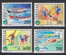 Faeroer/Faroer postfris 1989 MNH 186-189 - Sport kleine Eilanden