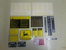 John Deere 3020 Decals