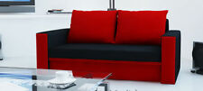Fabric Modern Two Seater Sofa Beds