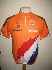 Holland worn by RIDER jersey shirt KNWU cycling wielrennen radsport size XL