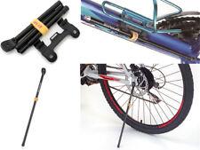 "65g Bike Portable KickStand CoolStand For 26"" 700C W/Bracket Black"