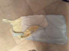 Babyschlafsack blau/gelb (Fa. TCM) Sommer/leicht
