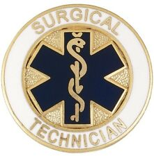 Surgical Technician Tech Star of Life Emblem Medical Lapel Pin Professional New