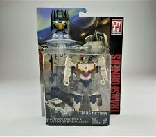 Transformers Titans Return Autobot Throttle & Autobot Breakaway MISB MOC