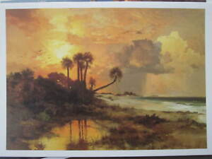 THOMAS MORAN Lot of 7 ART PRINT NOTE CARDS NEUES PUBLISHING PRINTED in GERMANY