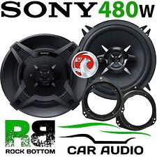 """Vauxhall Corsa C 2000-2006 SONY 5.25"""" 13cm 480 Watts 3 Way Front Door Speaker"""