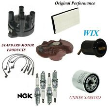 Tune Up Kit Air Oil Fuel Filters Wirre Spark Plugs For FORD PROBE L4 2.2L; GT 90