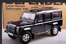 1:18 Century Dragon 110 Land Rover Defender Die Cast Model Black