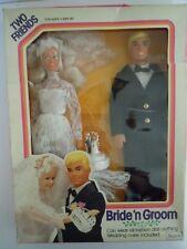 SUPER RARE SET VINTAGE BRIDE & GROOM TWO FRIENDS SEARS EXCLUSIVE & THE RECEIPT