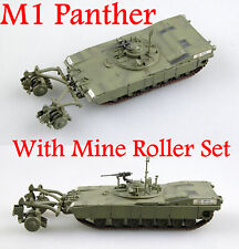 Easy Model 1/72 US Army M1 Panther With Mine Roller Set  #35048