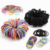 Elastic Rope Women Hair Ties Ponytail Holder Head Band Hairbands Lot 50/100 Pcs