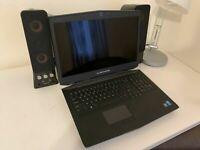 Alienware 17 i7-4800MQ 750GB 320GB SSD 17.3 3D 16GB GTX 860M Win10 Gaming Laptop