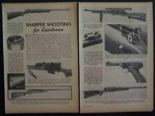 1949 Rifle pictorial review Winchester Remington Marlin Stevens Mossberg Colt