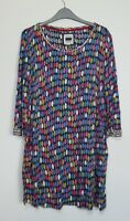 Mistral Pebble Rock Spot Tunic Dress top Size 8 - 18