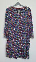 Mistral Pebble Rock Spot Tunic Dress top Size 8 - 18